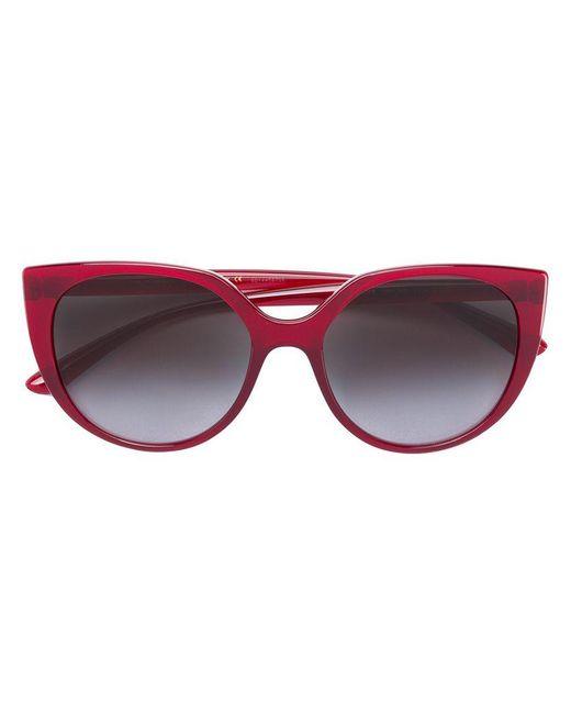 1e81cfcc513 Dolce   Gabbana - Red Cat Eye Sunglasses - Lyst ...