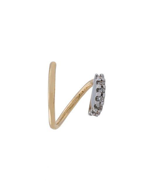 Maria Black | Metallic Lila Blanc Diamond Earring (right) | Lyst