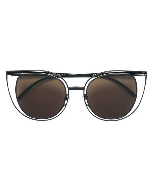 Thierry Lasry - Black Eventually Cat Eye Sunglasses - Lyst