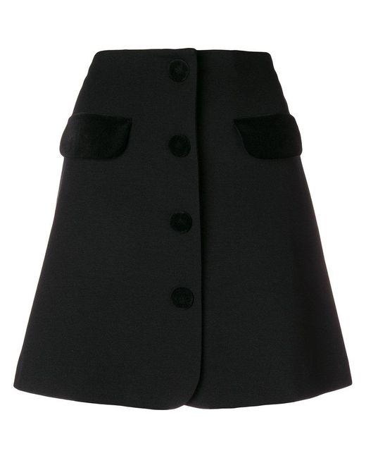 Vivetta - Black Short Skirt - Lyst