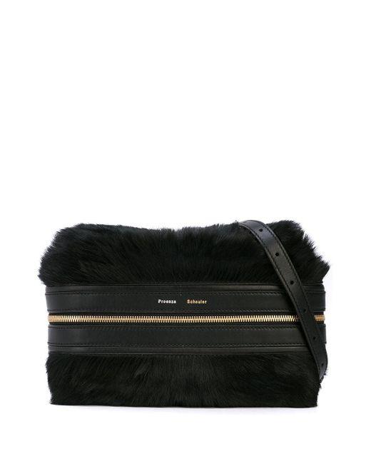 Proenza Schouler Black Pony Bum Bag