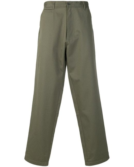 E. Tautz - Green Classic Chino Trousers for Men - Lyst