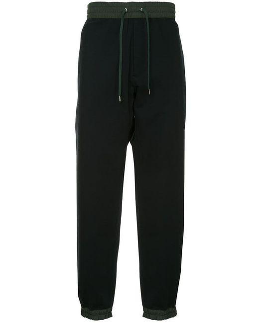 Kolor - Black Jogginghose mit Kontrastdetails for Men - Lyst