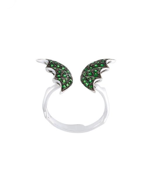 Stephen Webster - Green Wing Detail Ring - Lyst