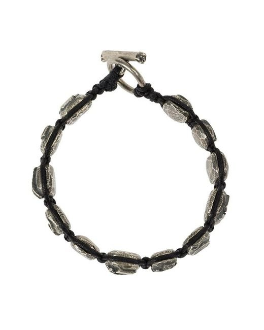 Tobias Wistisen | Black Mosaic Bead Bracelet for Men | Lyst