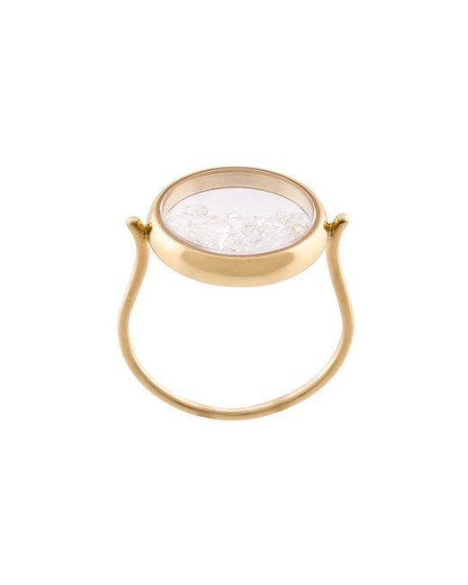 Aurelie Bidermann - Metallic 'chiba' Ring - Lyst