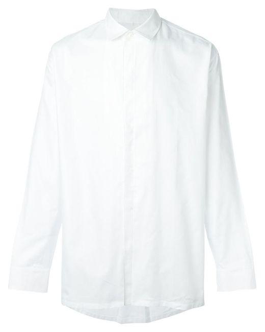 Maison Margiela | White Boxy Buttoned Shirt for Men | Lyst