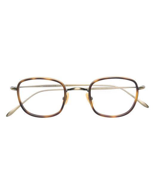 Lesca Metallic Frames Lyst Gafas Round qqzTvwpx