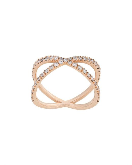 Eva Fehren - Metallic Shorty X Ring - Lyst