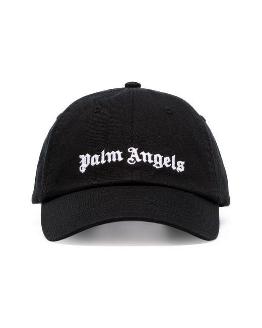 Palm Angels - Black Gorra de béisbol con logo for Men - Lyst