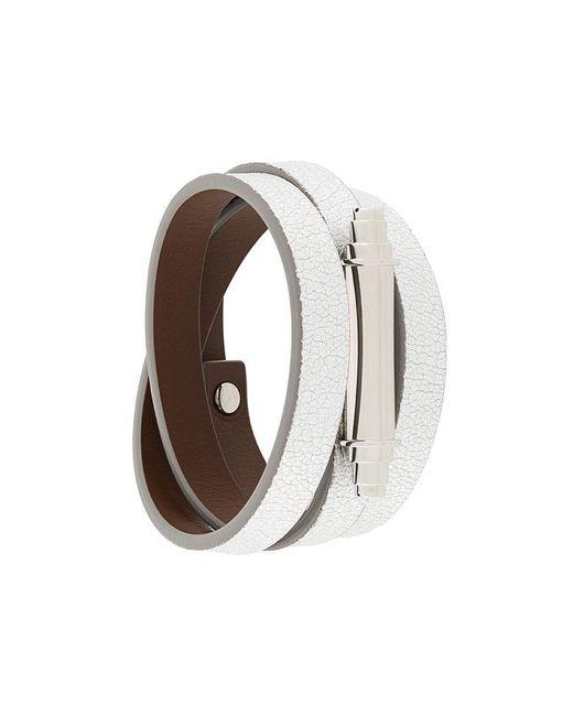 Givenchy   Metallic Obsedia Pure Wraparound Bracelet   Lyst