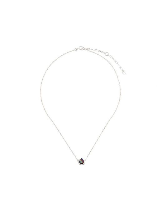 Niza Huang - Metallic One Stone Necklace - Lyst