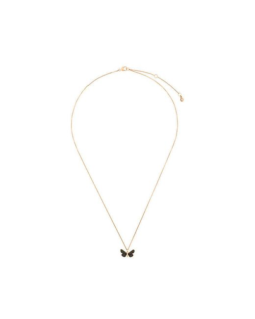 Astley Clarke - Metallic Cinnabar Moth Necklace - Lyst
