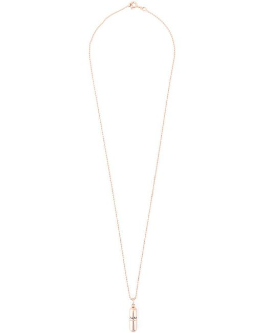 True Rocks - Pink 'pill' Necklace - Lyst
