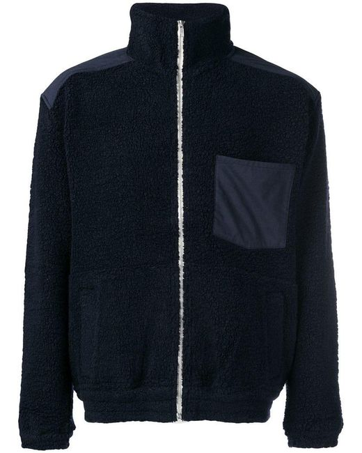 Nanamica - Blue Shearling Jacket for Men - Lyst