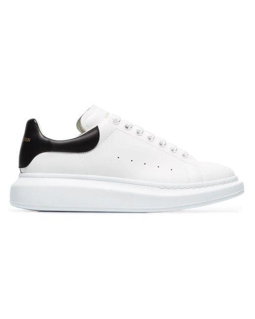 Alexander McQueen - White Oversized Sole Sneakers for Men - Lyst