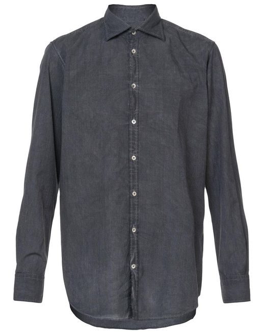 Massimo Alba | Black Classic Checked Shirt for Men | Lyst