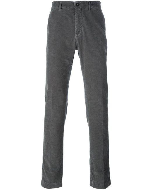 Massimo Alba - Gray 'winch' Trousers for Men - Lyst