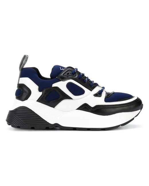 Stella McCartney - Blue Colour Block Sneakers for Men - Lyst