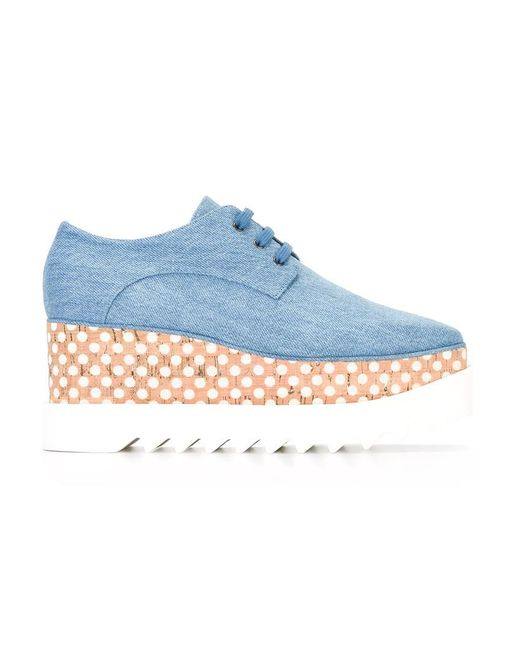 Stella McCartney | Blue Elyse Shoes | Lyst