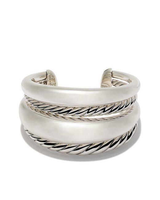 David Yurman - Metallic Pure Form Bold Cuff - Lyst