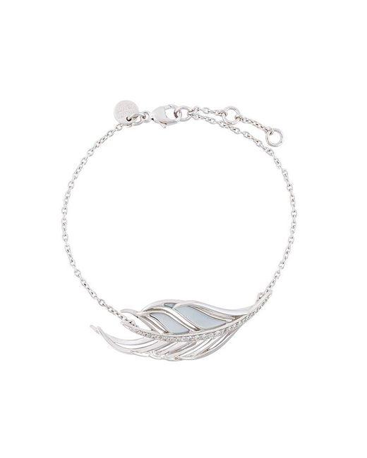 Shaun Leane - Metallic 'white Feather' Diamond Bracelet - Lyst