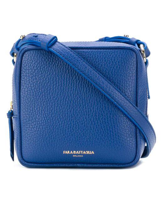 Sara Battaglia | Blue Square Shoulder Bag | Lyst