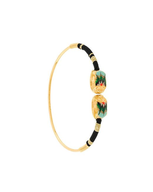 Gas Bijoux | Metallic Scaramouche Bangle | Lyst