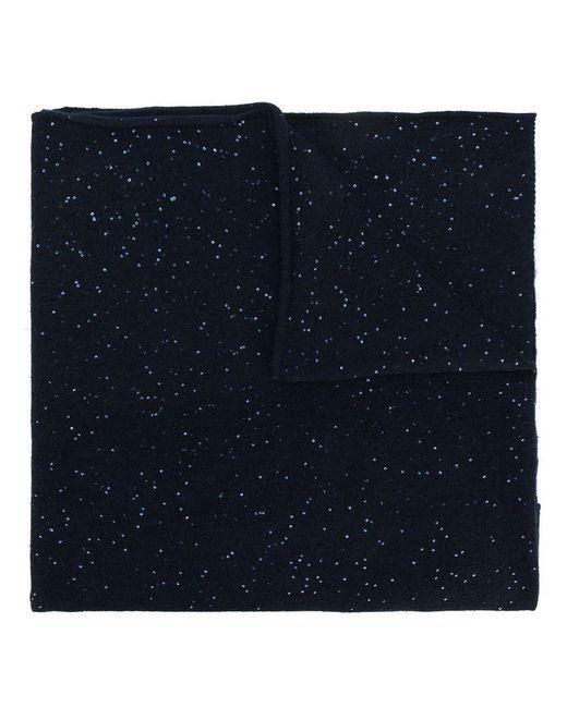 Fabiana Filippi - Blue Embellished Knitted Scarf - Lyst