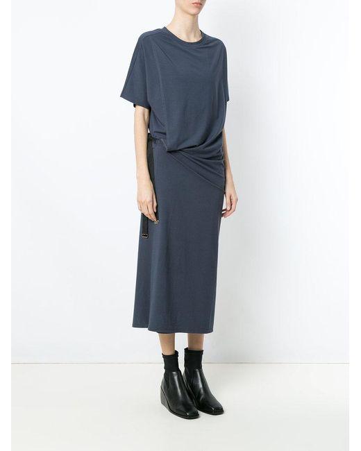 Mooca longsleeved dress - Blue Uma jo0sC4J
