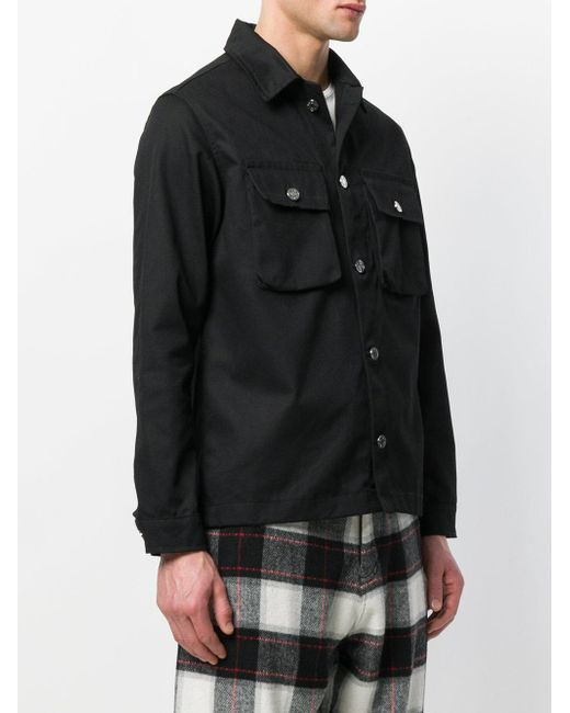 Field shirt jacket - Black Blood Brother Brand New Unisex Cheap Online Cheap Latest Shop Cheap Price Explore Online 6TD2GSlT