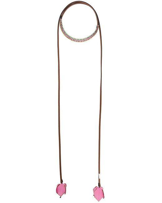 Marni - Brown Chocker Necklace - Lyst