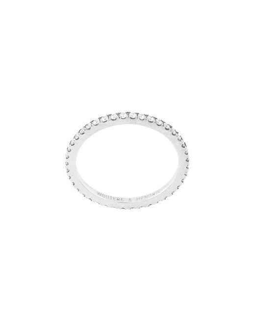 Wouters & Hendrix - Metallic Full Diamond Ring - Lyst