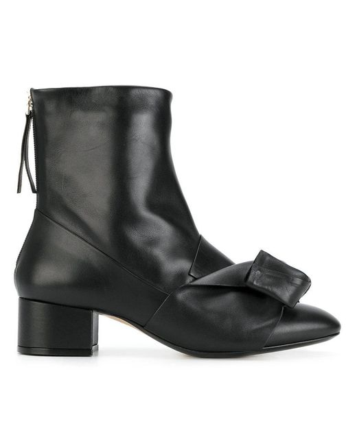 N°21 | Black Leather Ankle Boots | Lyst