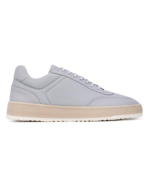 Etq - Gray Low-top Platform Sneakers for Men - Lyst