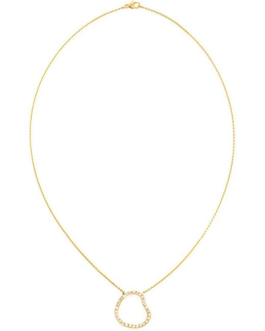 Kimberly Mcdonald - Metallic Diamond Pendent Necklace - Lyst