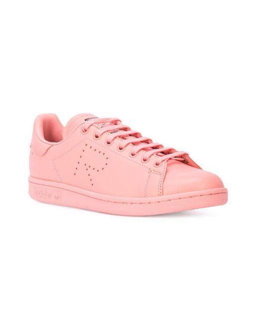 new concept afdc1 c9c9c Adidas By Raf Simons - Pink R Logo Stan Smith ...