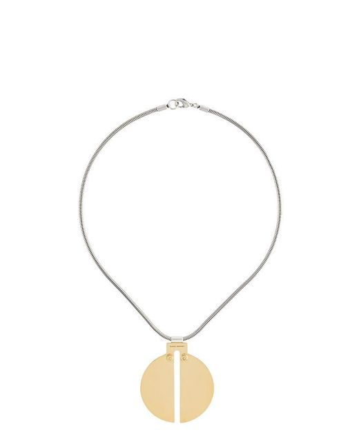 Isabel Marant - Metallic Delicate Pendant Necklace - Lyst