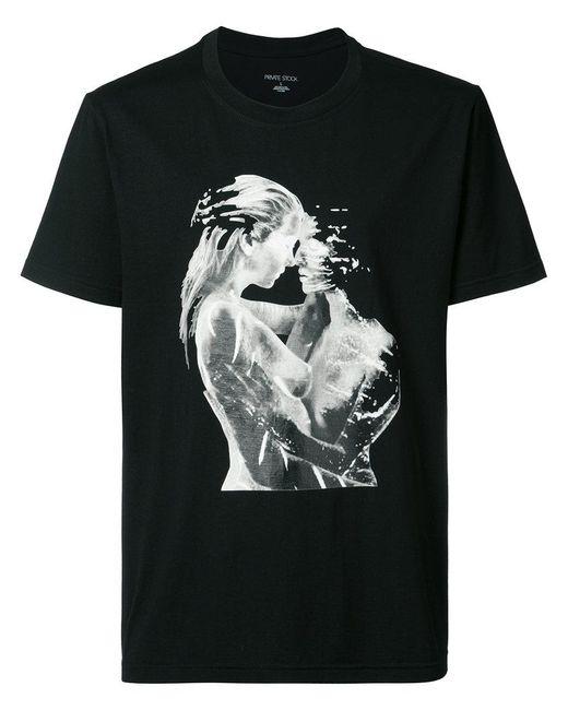 Private Stock - Black Embrace T-shirt for Men - Lyst