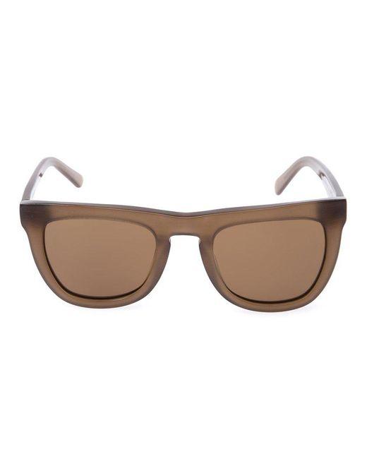 Neil Barrett - Brown Flat Top Sunglasses - Lyst