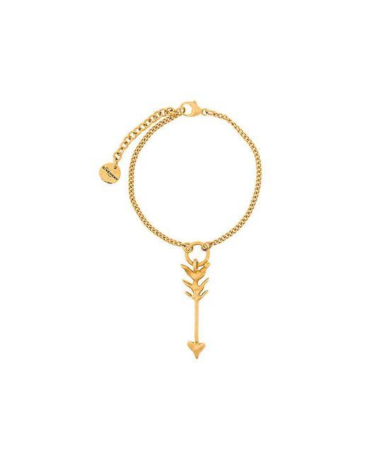 Givenchy - Metallic Arrow Charm Bracelet - Lyst