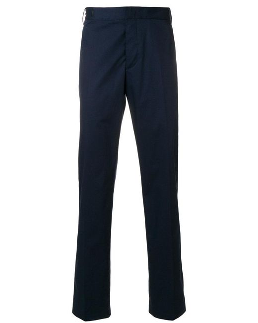 Lanvin - Blue Classic Tailored Trousers for Men - Lyst