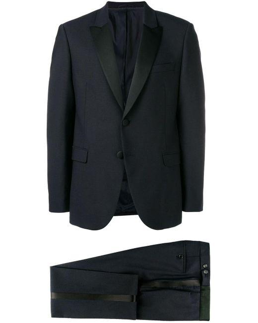 Neil Barrett Blue Two-piece Dinner Suit for men