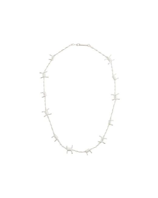 Ambush | Metallic Barbed Wire Necklace for Men | Lyst