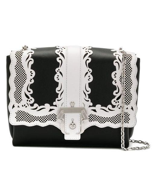 Paula Cademartori - Black Alice Lady Lace Handbag - Lyst