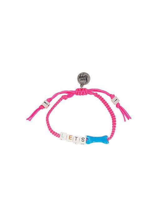 Venessa Arizaga | Pink 'lets Bone' Bracelet | Lyst