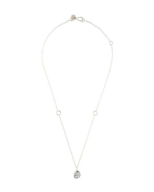 Melissa Joy Manning | Gray Rutilated Quartz Necklace | Lyst