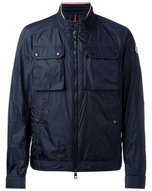 Moncler | Blue Multi-pocket Sport Jacket for Men | Lyst