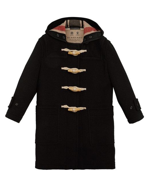 Burberry - Black Greenwich Duffle Coat - Lyst