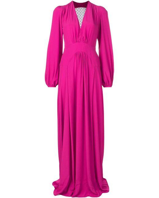Plonger Robe De Cou - Rose Et Violet N21 utV1VC3Cw